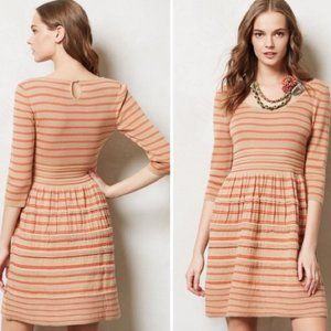 Anthro Knitted & Knotted Elodie Sweater Dress